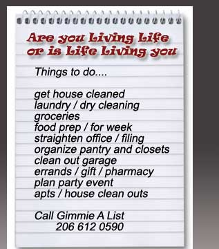 cleaning services seattle gimmie a list seattle